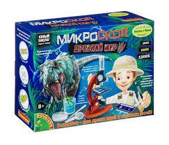 <b>Bondibon Микроскоп</b> Древний мир: Динозавры <b>Технический</b> ...