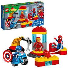 LEGO DUPLO <b>Super Heroes</b> Lab Marvel Avengers Toy 10921 : Target