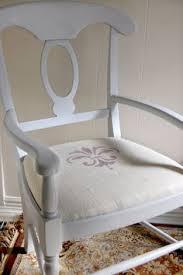 burlap stenciled chairs 551 east furniture design portfolio burlap furniture
