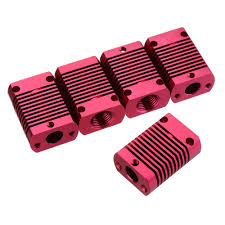 5Pcs 272012mm <b>Aluminum</b> Cooling Heatsink Radiator Block for CR ...