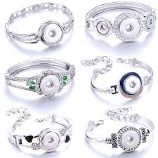 10pcs lot wholesale 18 20mm snap button jewelry with pearl 20mm bird sliver plated kc9895 snaps