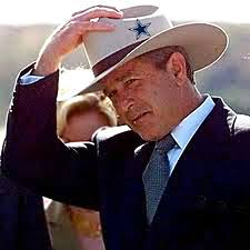 Image result for george w bush cowboy hat
