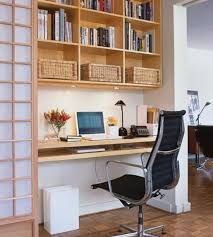 marvelous ideas how to decorate a small office at work with wall shelving unit bookshelf and amazing small office
