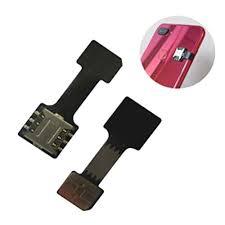 WayJaneDTP <b>1Pcs</b> Black Dual sim <b>Adapter</b> Memory Card Converter ...