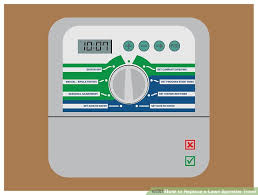 sprinkler timer wiring diagram sprinkler image how to replace a lawn sprinkler timer 10 steps pictures on sprinkler timer wiring diagram