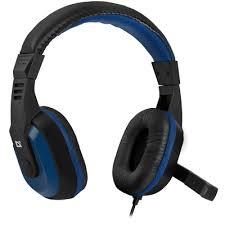 Gaming headset <b>Defender Warhead G-190</b> blue + black, cable 2,5 m