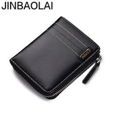 JINBAOLAI Korean men's fashion casual wallet man short ... - Vova