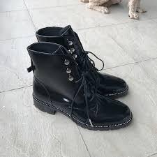 <b>2016 New</b> Italian Style <b>Women Boots</b> Genuine Leather Round Toe ...