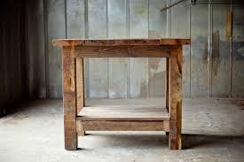 rustic kitchen island: reclaimed wood kitchen island rustic sons of sawdust
