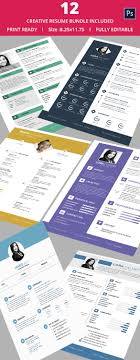 creative resume template 81 samples examples format 12 creative resume bundle only for 25