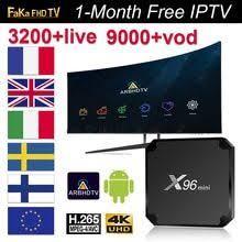 <b>France IPTV</b> Italy Germany <b>X96</b> mini with 1 month <b>IPTV</b> Italian ...