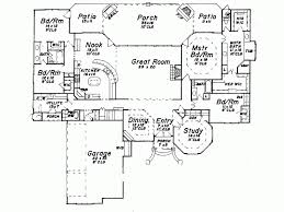 Eplans European House Plan   One Story European Luxury      Level