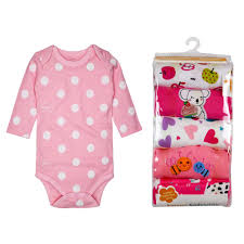 6Pcs <b>Newborn Baby</b> Girl <b>Romper Winter Baby</b> Boy Jumpsuit 100 ...