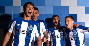 New Balance Launch <b>FC Porto</b> 2019/20 <b>Home Shirt</b> Football Apparel