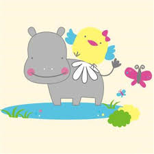 Детская <b>футболка</b>, термопечать, 105 мм, hippo <b>bird</b>, ПВХ ...