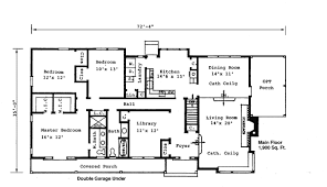 House Plan at FamilyHomePlans comBungalow House Plan Level One