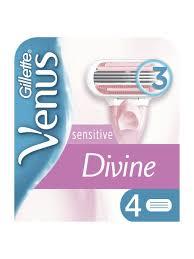 <b>Сменные кассеты</b> для бритья Divine Sensitive (4 шт.) <b>VENUS</b> ...