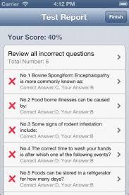 download servsafe food safety exam prep for iphone   appszoom