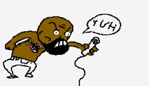 MC Ride drawn by Vinesauce Joel : deathgrips via Relatably.com