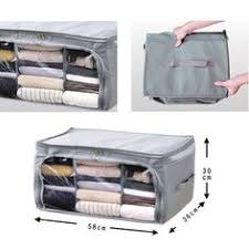 <b>New 3Pcs Non-Woven Family</b> Save Space Foldable Clothes ...