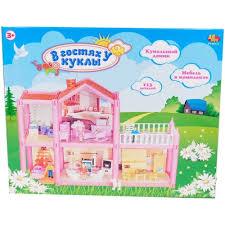 Купить <b>кукольный</b> домик <b>ABtoys</b> В гостях у куклы. <b>Дом кукольный</b> ...