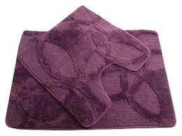 <b>Коврик Fixsen FX</b>-<b>0128A</b>-<b>2 комплект</b>, фиолетовый - купить в ...
