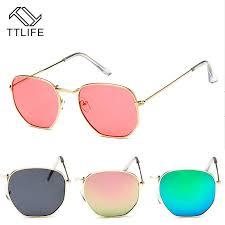 <b>TTLIFE</b> Vintage <b>Sunglasses</b> Women Men Brand Designer Small ...