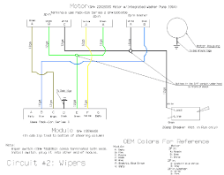 tech detailed wiper wiring diagram