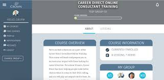 career direct online consultant training crown career direct consultant training