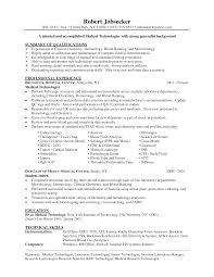 medical technologist resume getessay biz resume in medical technologist medical technician throughout medical technologist medical laboratory technician sample
