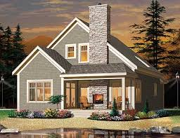 Southern cottage  Fireplaces and Cottage house plans on Pinterest