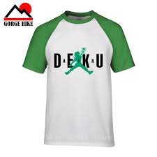 <b>Boku My Hero</b> Anime <b>Academia</b> T Shirt Air Deku Harajuku Funny ...