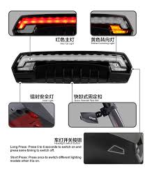 USB <b>Bike Laser</b> Light Turn Signals <b>Bicycle Taillight</b> LED Rear <b>Tail</b> ...