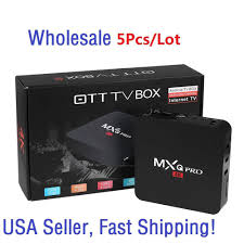 <b>5pcs</b> MXQ Pro 4K S905 2.0GHz Quad Core Android 5.1 Smart TV ...