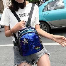 Блестящий <b>мини</b>-рюкзак с блестками для девочек-подростков ...
