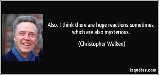 Christopher Walken Image Quotation #8 - QuotationOf . COM