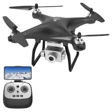 <b>JJRC X13</b> 4K <b>GPS</b> RC Drone Black