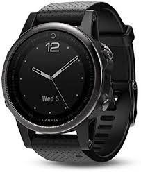 <b>Garmin Fenix 5S Sapphire</b> Black/Black Band Glass: Amazon.ca: Cell ...