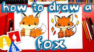 How To Draw A <b>Cute Fox</b> - YouTube