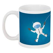"""Кружка """"<b>Космонавт</b> в открытом космосе."""" #2858219 от CAXAP ..."""