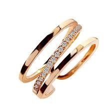 【In Stock】<b>Korean Zircon Micro-Inlay</b> Index Finger Ring Irregular ...