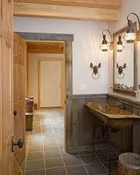 country themed reclaimed wood bathroom storage: vanity country western rustic cabin wood bathroom furniture decor
