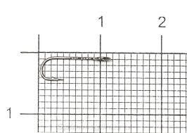 <b>Крючок Crazy Fish Round</b> Bent Fixative RBFS-12, арт. RBFS-12 ...