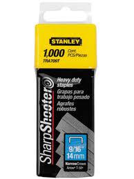 <b>Скобы Stanley</b> тип 57 10mm 1000шт - Мрамор