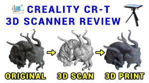 Creality CR-<b>T 3D</b> scanner review - YouTube