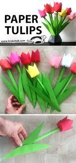 Paper tulips - krokotak
