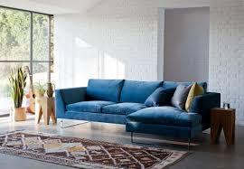 blue sofas living room:  impresssive modern living room design with simple dark