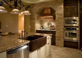 hammered copper kitchen sink: image of hammered copper farmhouse sink apron