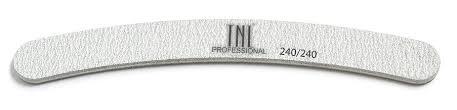 TNL PROFESSIONAL <b>Пилка бумеранг для</b> ногтей 240/240, серая ...