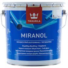 <b>Эмаль</b> Tikkurila <b>Миранол</b> цвет белый 2.7 л в Москве – купить по ...